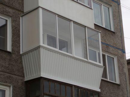 Отделка балконов / остекление балконов / услуги абакан.