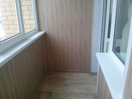 Обшивка балконов / остекление балконов / услуги воронеж.