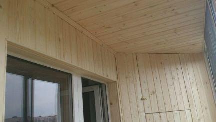 Обшивка балконов / остекление балконов / услуги нижнекамск.