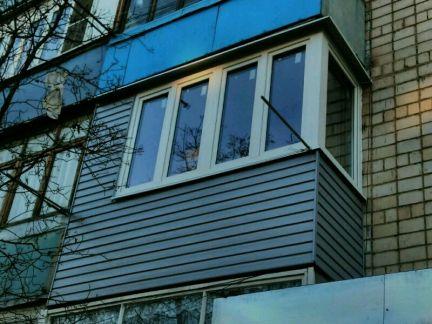 Услуги - балконы под ключ в ростовской области предложение и.