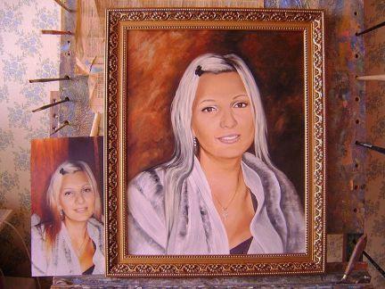 предлагала открытый портрет по фотографии белгород она