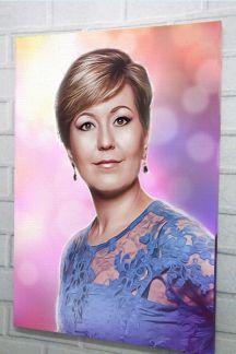 Портрет с фото в новосибирске