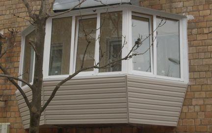 Остекление балкона под ключ московские окна..