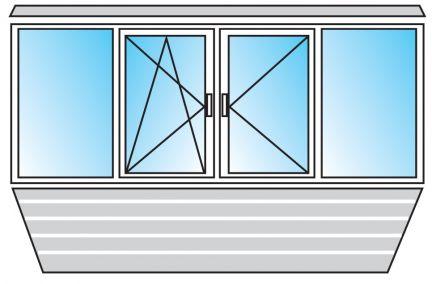 Окна, балконы / остекление балконов / услуги одинцово.