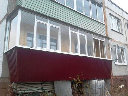 Балконы / остекление балконов / услуги калуга.