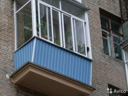 Балконы и лоджии / остекление балконов / услуги дубна.