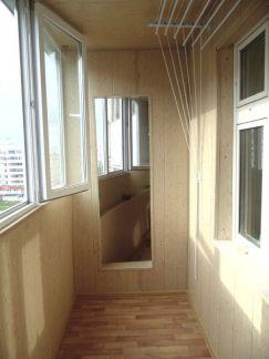 Обшивка балконов / остекление балконов / услуги рязань.