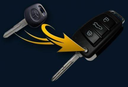 Ключи с чипом для автомобиля