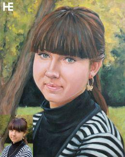 портрет по фотографии белгород домофоне