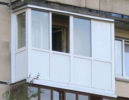 Балкон пвх с монтажом бп-2467 - объявление в городе Челябинс.