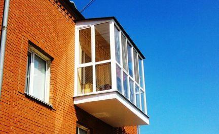 Балконы / остекление балконов / услуги москва.