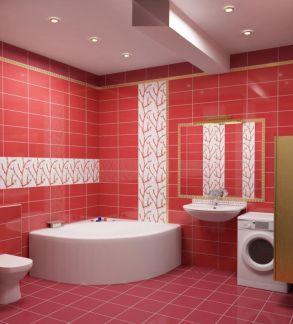 Интерьер в бордовом цвете, дизайн, в гостиной