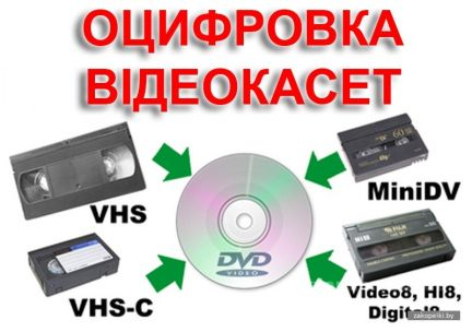 основу оцифровка видеокассет в чебоксарах заказ