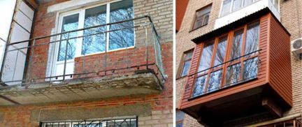 Балконы / остекление балконов / услуги рязань.