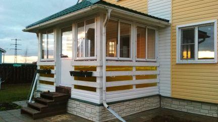 Остекление балконов, лоджий / остекление балконов / услуги Ч.