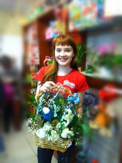 Букеты, доставка цветов алексине