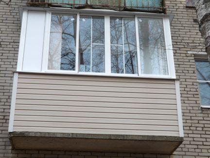 Балконы / остекление балконов / услуги балашиха.