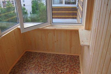Какие материалы для обшивки балкона.
