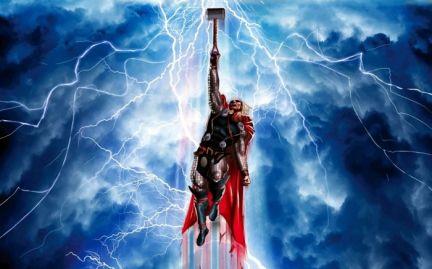 тор молот молния Thor hammer lightning бесплатно