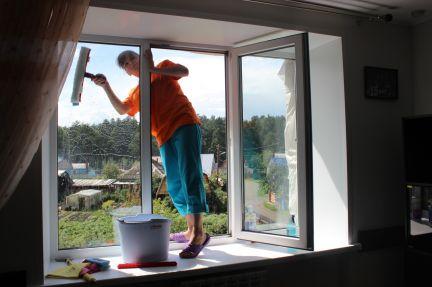 Мойка окон, балконов / мойка окон / услуги томск.