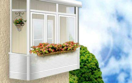 Остекление балконов москва: застеклить балкон - стоимость мо.