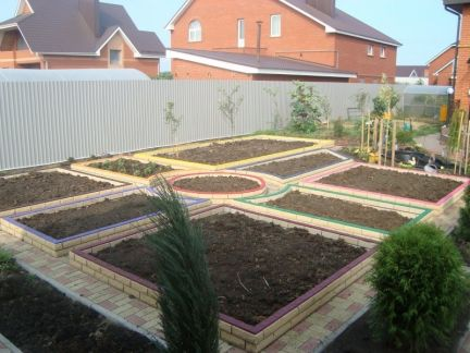 Как сделать огород красивым своими руками фото.