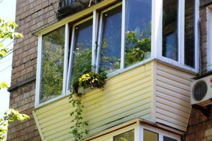 Балкон под ключ / остекление балконов / услуги мытищи.