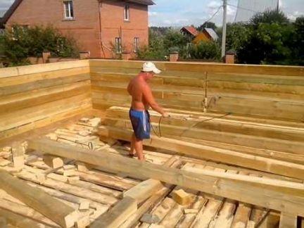 Чем обработать дом после постройки