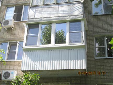 Отделка балконов / остекление балконов / услуги ростов-на-до.