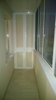 Отделка балконов / остекление балконов / услуги мытищи.
