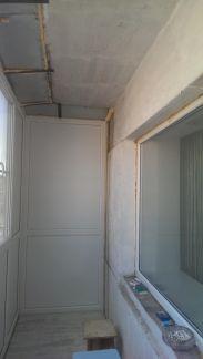Обшивка балконов / остекление балконов / услуги курган.